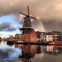 Haarlem, windmill De Adriaan