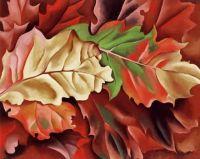 Autumn Leaves   Georgia O'Keefe
