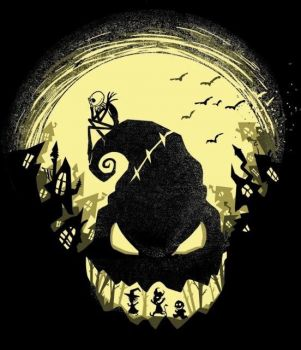 the nightmare before christmas silhouette