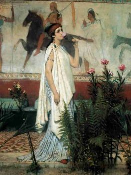 A greek woman by Lawrence Alma Tadema