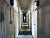 Deserted Hallway