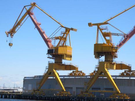 Shiploading Cranes