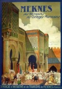 Meknes - high on my list of Moroccan medieval cities to visit.