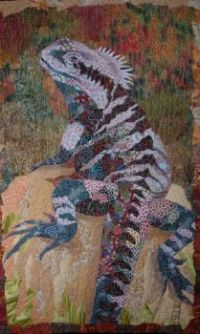 "Beautiful quilt ""Easter Water Dragon"""