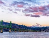 Mt. Hood from Hood River, OR