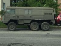 A Volvo c303 6X6