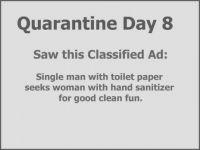 Quarantine Day 8