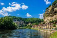 The Dordogne River at La Roque Gageac, France