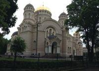 Russian Orthodox Church in Riga, Latvia