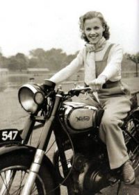 Girl on a Motorcycle 17
