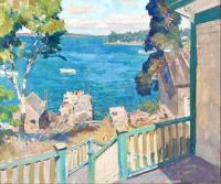 Untitled (view of Port Clyde harbor), c.1931, N. C. Wyeth (1882-1945)