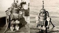 Early diving suit