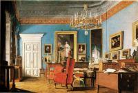 Artist unknown, The Office of Chancellor Prince Clemens von Metternich (1829)