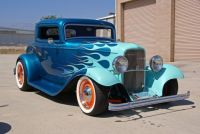 Hot Rod 1932 Ford 3 Window Coupe