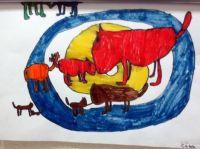 Caleb's painting