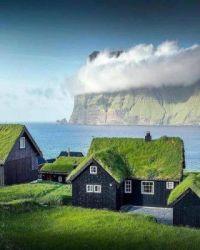 Houses on Faroe Islands