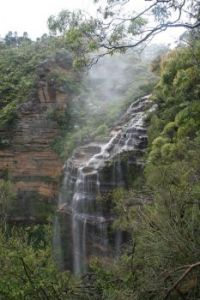 Wentworth Falls  near Katoomba, Blue Mountains, Australia