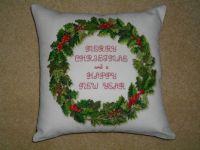 183. Merry Christmas Cushion