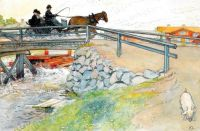 "Carl Larsson, ""The Bridge"""
