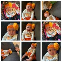 Maddie's First Thanksgiving!!