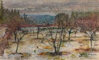 Gerhard Munthe (Norwegian, 1849–1929), Early Spring (1922)