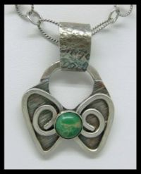 Butterfly Sterling pendant