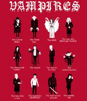 Halloween ~ Many Vampires - one for everyone!!!!