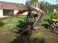 Historický žací stroj