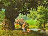 Summer-The Swimming Hole (Paul Detlefsen)