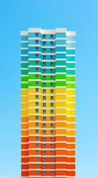 apartment building balat istanbul