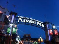 Texas Vacation Pleasure Pier in Galveston Island