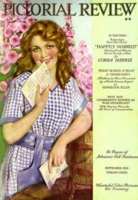 Themes Vintage illustrations/pictures - Magazine Cover 1918