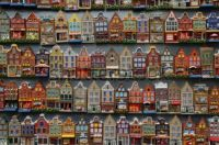 Dutch Storefronts In Miniature