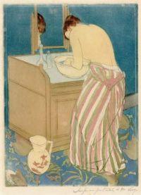 Mary Cassatt Artwork - 'Morning Ablutions'