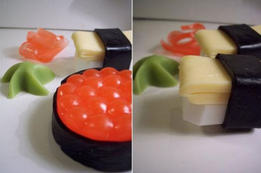 food art - is really soap