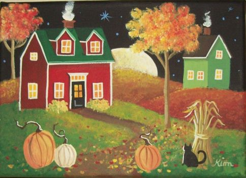Harvest Moon Folk Art