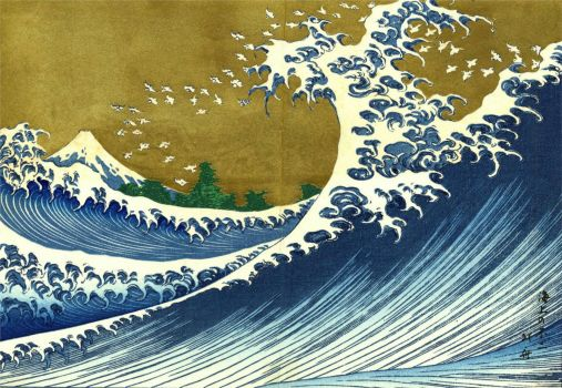 Big Wave 2 - Hokusai