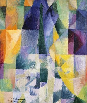 Simultaneous Window by Robert Delaunay