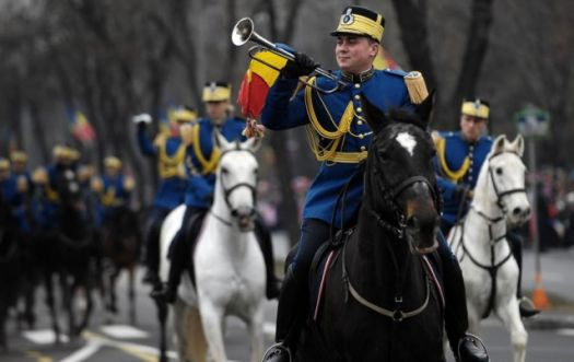 Military parade for National Day of Romania