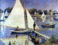 Renoir - Sailboats At Argenteuil (1874)
