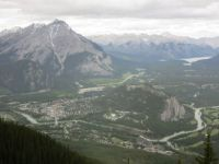 Banff from Sanson's Peak
