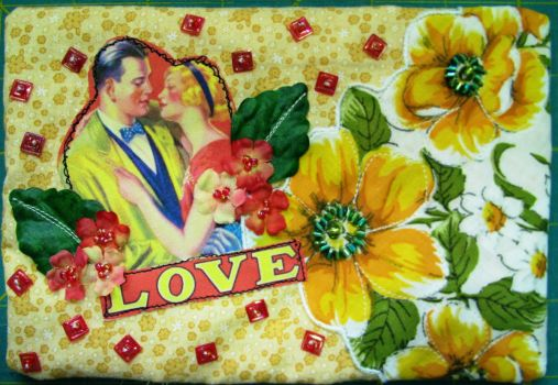 Vintage Hanky with Love