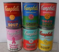 Warhol soup cans  - small