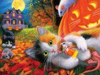 Just Kitten Around on Halloween
