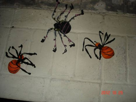 Spiders on the Wall!