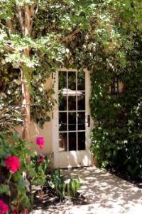 Chateau St Jean patio door