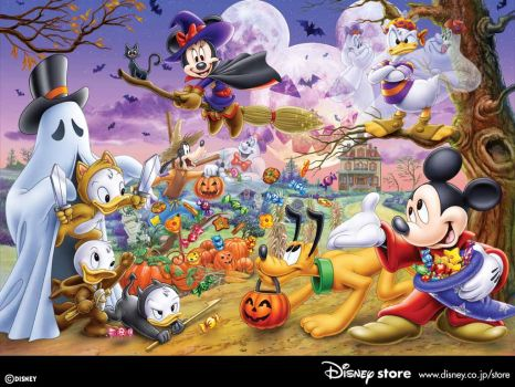 Disney-When Ghosts & Goblins Come to Town