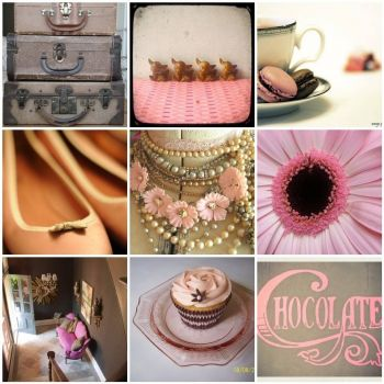 Chocolatey pink by Under a Blue Moon on flickr