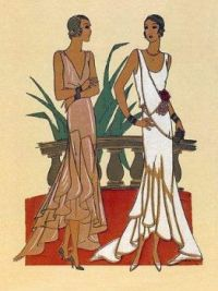 J.S. Artwork - 1929 Fashion
