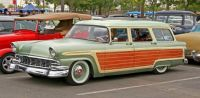 1956 Ford Wallpaper Woodie
